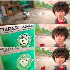 "hxneylemon: "" ""…this chip is what makes Baymax…Baymax. Disney Pixar Movies, Disney And Dreamworks, Baymax, Hiro Hamada, Tadashi Hamada, The Big Hero, Oscar Winning Movies, Film Big, Phineas And Ferb"