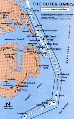 The Outer Banks  I lived in Manteo for 6 years and LOVED IT.  I am retiring to Southern Shores when the time is right!