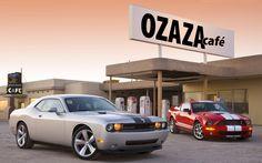 Dodge e Mustang