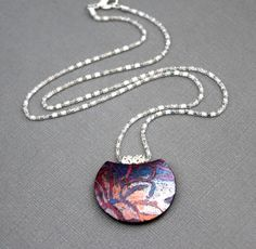 Susy- Pendant necklace in polymer clay
