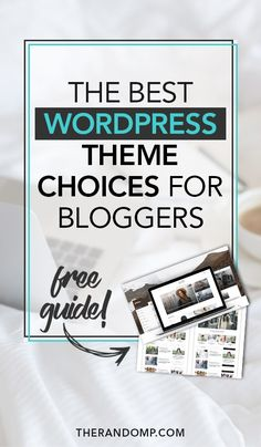 The best WordPress theme review for bloggers: https://www.therandomp.com/blog/wordpress-theme-review/ Choose the best Wordpress theme for your blog. This Wordpress theme review includes the most popular and the most recent theme options. Grow your blog with an amazing Wordpress theme.