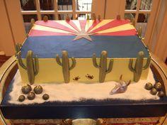 Arizona Flag Grooms Cake!