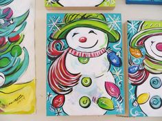 Image result for christmas painting