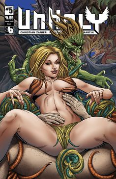 Unholy 5 (Femme Fatales Cover) from Boundless Comics - written by Christian Zanier. Comic book hits store shelves on May 31, 2017