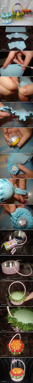 DIY Sweet Candy Basket