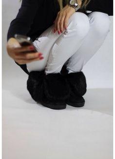 Kup mój przedmiot na #vintedpl http://www.vinted.pl/damskie-obuwie/botki/11543251-sneakersy-naturalny-krolik-hit-kozaki
