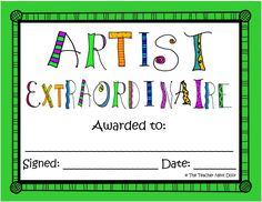 This is one of the 40 End of the Year Award Certificates by The Teacher Next Door. Each award comes in two versions: colorful or printer friendly. Lots of awards, so you'll be able to find one that's perfect for each child. $