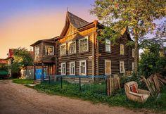 Удивительная архитектура г. Кимры Тверская область Россия