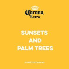 Mehr braucht man nicht! #TimeForCorona  Hast du schon deine eigene Beach Card erstellt? Werd kreativ: www.corona.de/beach-cards Beach Cards, Corona, Creative