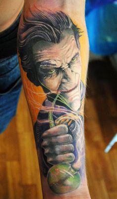 Tattoo Artist - Semyon Seredin   www.worldtattoogallery.com/movies_tattoo