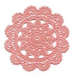 Znalezione obrazy dla zapytania cornflower crochet doily