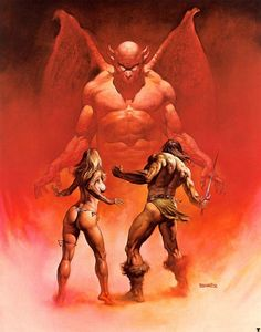 Boris Vallejo – In the Underworld