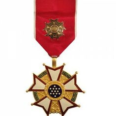 The Legion of Merit Medal Officer (LM, LOM) is a decoration presented by the United States Armed Forces to members of the United States Military, as well as foreign military members and political figures, who have displayed exceptionally meritorious conduct in the performance of outstanding services and achievements. The performance must be of significant importance and far exceed what is expected by normal standards.
