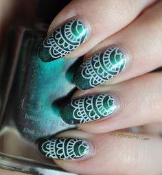 Mielenmaisemia - lace nails Lace Nails, Class Ring, Nailart, Beauty, Jewelry, Jewlery, Jewerly, Schmuck, Jewels