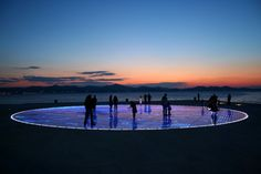 Croatia's Solar Powered Interactive Light Installation
