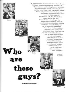 Article about the Broncos' offensive line: Andy Maurer #64, Tom ...