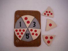 Pizza cuenta tranquilo 5 x 7 ocupado del por BusyBookBuilders
