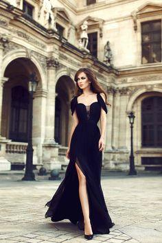 Hot Sale 2016 Sexy A Line Harness-style Floor Length Zipper Evening Dresses Chiffon Grasp fold Split Front/Side Prom Dresses Party Dresses