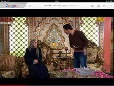 A scene from my work in the drama series Arabic  مشهد من عملي بالدراما العربية