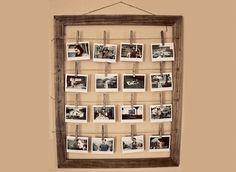 Fotoğraflarınızdan El Yapımı Anı Albümü Tablosu