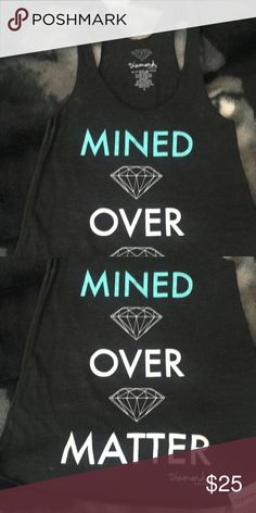 Diamond supply co tank Like new worn once could a  x small as well Diamond Supply Co. Tops