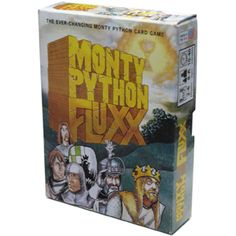 The Fluxx games are really cool and good family fun.  This one is especially fun is you're into Monty Python as we are around here.