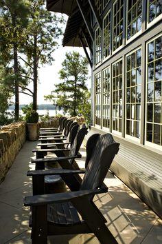 ...at the lake house