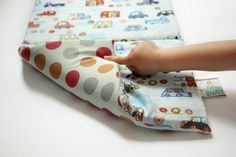 Cars buggy liner with large polka dots on reverse that will keep baby comfortable and happy while protecting your stroller from marks and spills. $40.00 | CLICK and use #CouponCode PIN10 to save 10% now! #stroller liners