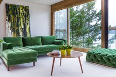 Green Velvet - How To Use Pantone's 2017 Color Of The Year In Your Home - Photos