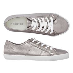 Take your sneaker game up a notch in holster's street-style icon, the Jetsetter. Get your pewter pair with metallic uppers & super soft soles online now! Sneaker Games, Vegan Shoes, Metallic Colors, Shoe Box, Shoes Online, Pewter, Footwear, Pairs, My Style