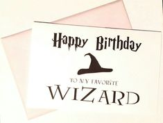 Harry Potter Birthday Card Printable