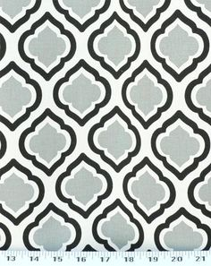 Curtis Cool Grey / White | Online Discount Drapery Fabrics And Upholstery  Fabric Superstore!