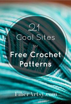 Websites for Free Crochet Patterns - FiberArtsy.com