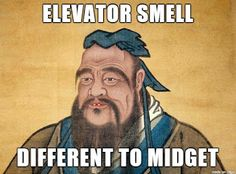 Rudest Confucious Say