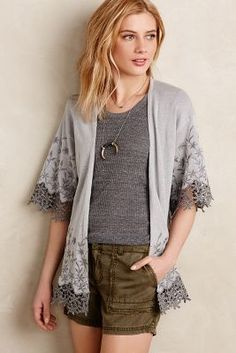 Sunday in Brooklyn Brielle Embroidered Kimono #anthroregistry
