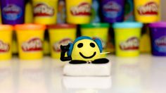 Play Doh DJ Smile playset playdough by Funny Socks