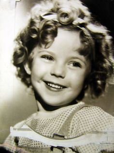 Shirley Temple, 1930s My Gran got me some old Shirley Temple books from the 'op shop' I loved them!