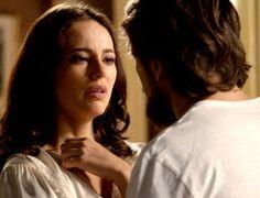 """Em """"Além do Tempo"""", Felipe descobre plano e desiste de se casar com Melissa"""