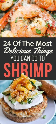 """24 Of The Most Delicious Things You Can Do ToShrimp """"Anyway, like I was saying, shrimp is the fruit of the sea."""" Courtesy of Buzzfeed 1. Shrimp Pasta with Creamy Bisque Sauce  trissalicious.com Things that I will never, ever get tired of: Shrimp. Pasta. Shrimp pasta. Get the recipe. 2. Easy Shrimp & Guacamole …"""