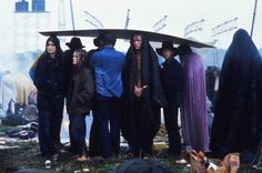 John Dominis. Woodstock Music and Art Fair en Bethel, Nueva York. 29 de agosto, 1969. -