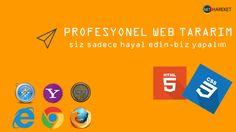 Hayalinizdeki Web Tasarım için bize ulaşmanız yeterli. Net Hareket http://www.nethareket.com/web-tasarim.php