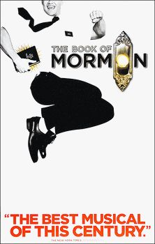 The Book of Mormon Broadway Poster 14x22 Window Card