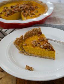 real raw kitchen: RECIPE: clean pumpkin pie