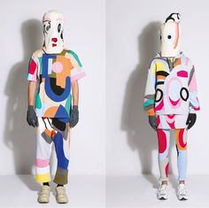 Daniel Palillo: Paintings About The Fashion World: This weekend in NYC, the atypical Finnish designer forgoes runways to show his thematic collection in an art gallery