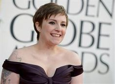 """What started out as an insult about weight ended up us Howard Stern saying """"I love you. I'm a fan of yours and I think you're terrific."""" Bra-vo, Dunham. Bravo."""