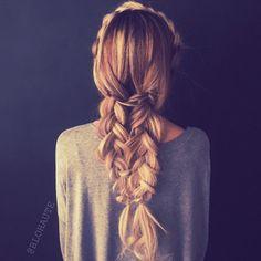 Hair goals. Multi plait.