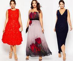 Вечерние и коктейльные платья для полных женщин