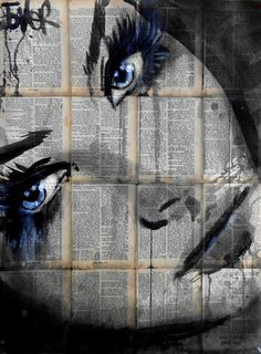 "Saatchi Art Artist Loui Jover; Drawing, ""deep pools"" #art"