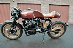 Honda CX500 Cafe Racer by Geert Billiet #motorcycles #caferacer #motos   caferacerpasion.com