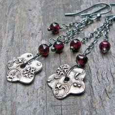 Fun earrings to make, I wanna try to make something like this